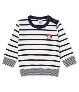Baby Boys' Sailor Striped Long-Sleeved T-Shirt