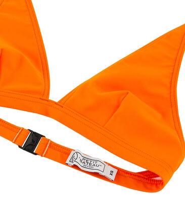 Women's eco-friendly bikini Tiger orange