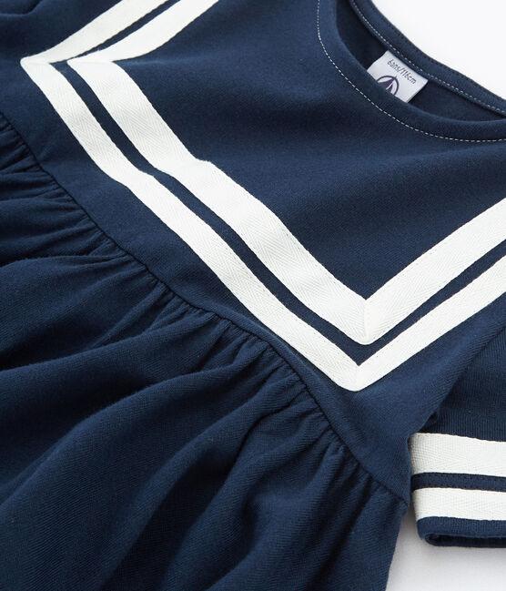 Girls' Dress Haddock blue