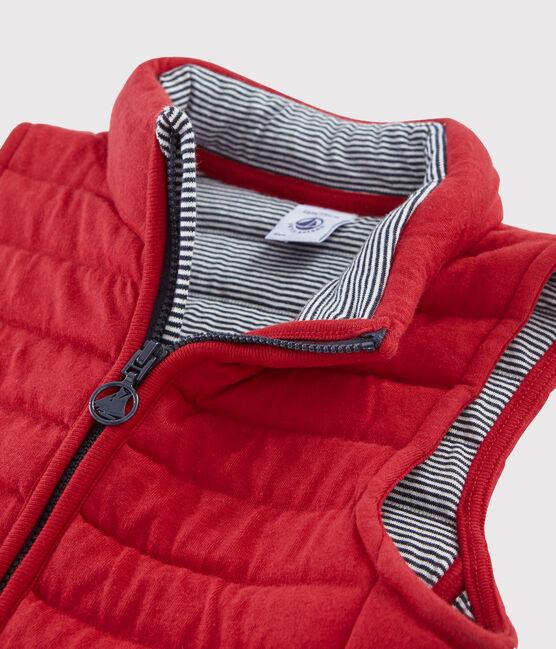Boys'/Girls' Sleeveless Jacket Terkuit red