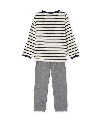 Teenage boys' three-piece pyjama set