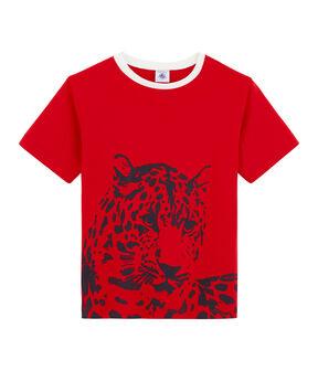 Boys' T-Shirt Terkuit red