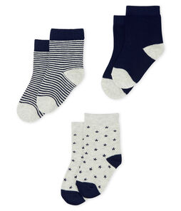 Baby Boys' Socks - 3-Piece Set