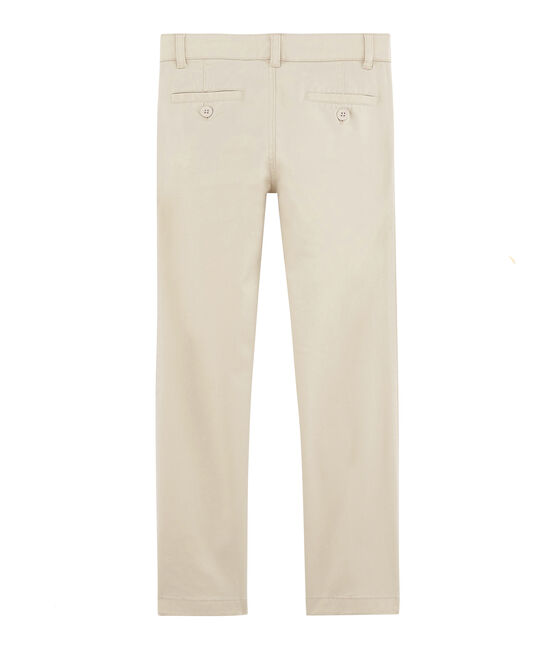 Boys' Trousers Feta white