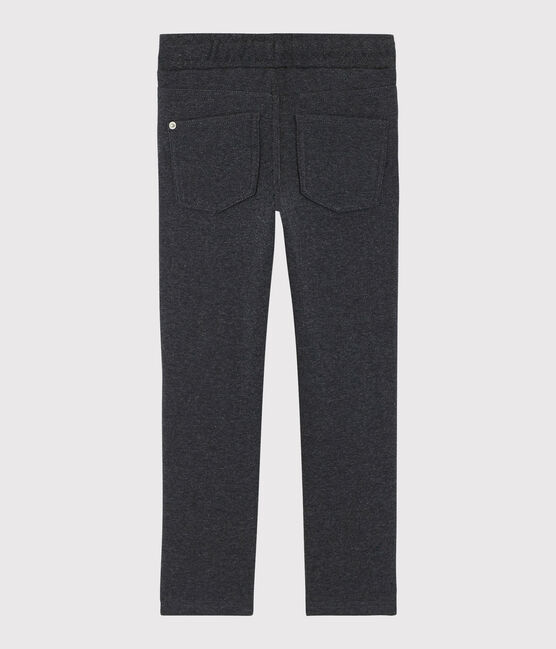 Warm lined trousers made of fleece denim, CITY CN
