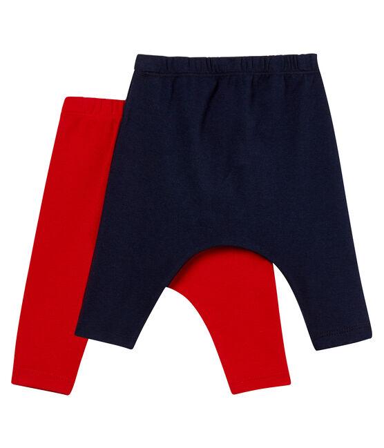 2 x unisex baby leggings . set
