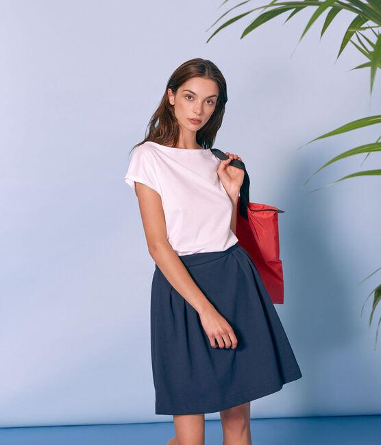 Women's flared skirt Smoking blue