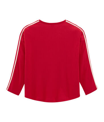 Long-sleeved T-shirt Terkuit red