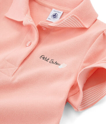 Girls' Short-sleeved Polo Shirt