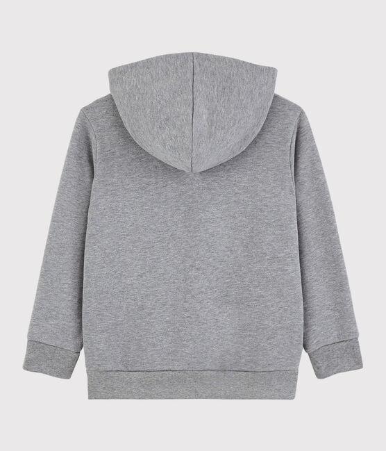 Boys' Hooded Sweatshirt Subway grey