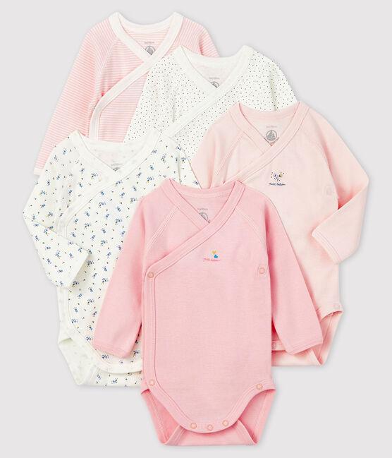Newborn Babies' Long-Sleeved Bodysuit - 5-Piece Set . set