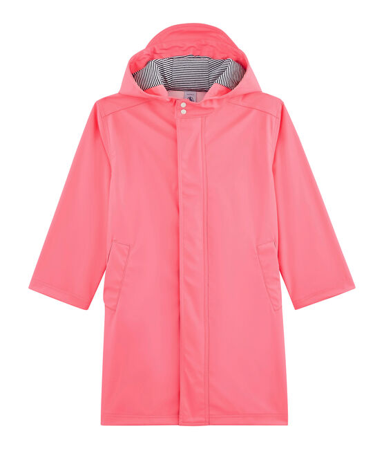 Unisex Children's Waxed Coat Cupcake pink