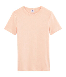 Women's Iconic T-Shirt Aster Chine pink