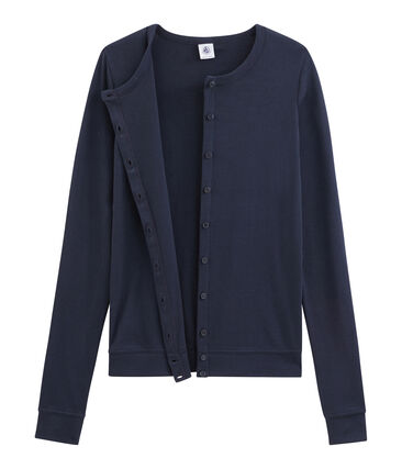 Women's Cardigan Smoking blue