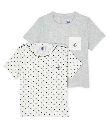 Set of 2 T-shirts for baby boys . set