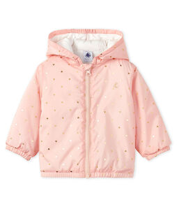 Unisex Baby's Fleece-Lined Jacket Minois pink / Or yellow