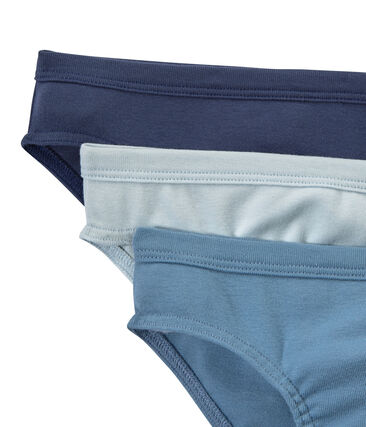 Set of 3 boys' plain briefs