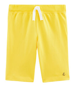 Boys' Bermuda Shorts Shine yellow