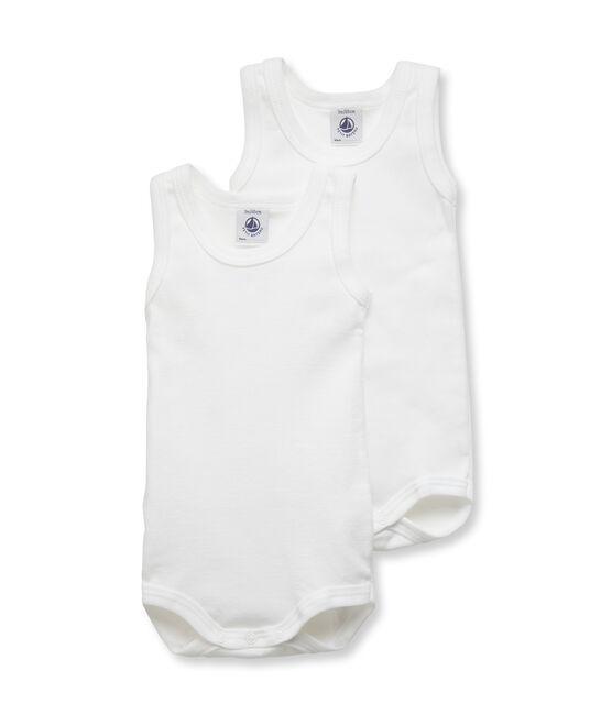 Baby Boys' Sleeveless Bodysuit - Set of 2 . set
