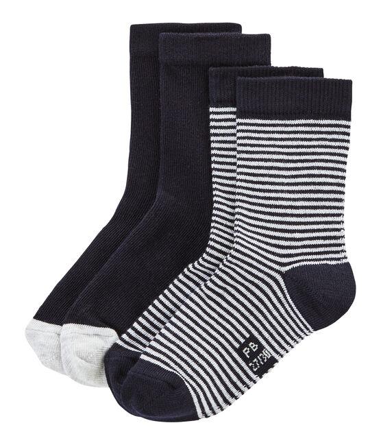 Pack of 2 Pairs of Unisex Socks . set