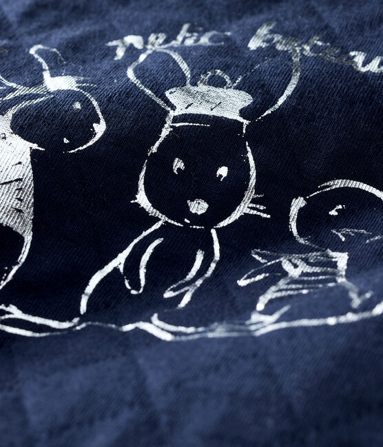 Baby Boys' Tube Knit Sweatshirt SMOKING