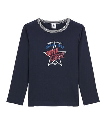 Little boy's long sleeved T-shirt