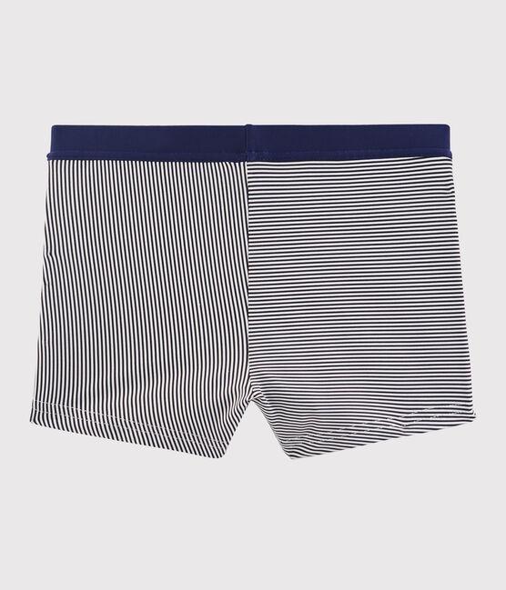 Boys' Swimming Trunks Abysse blue / Lait white