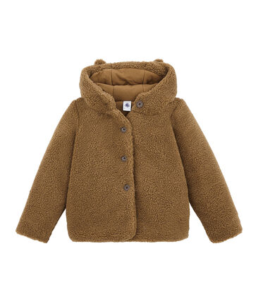 Girl's sherpa coat