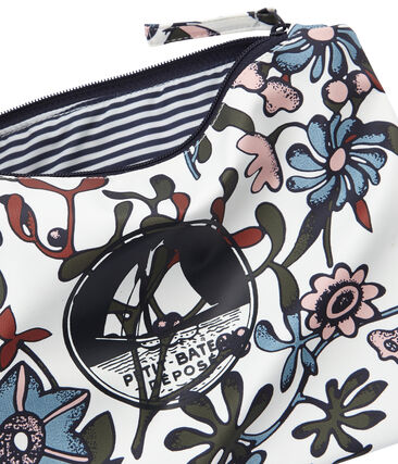 Printed clutch bag