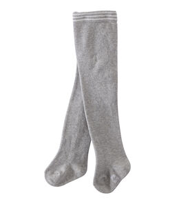 Baby Girls' Tights Beluga Chine grey