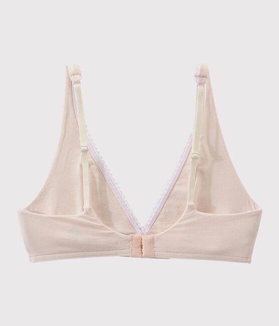 Women's plain bra FLEUR