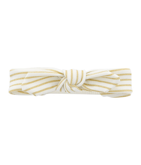 Girl's Hairband Marshmallow white / Or yellow
