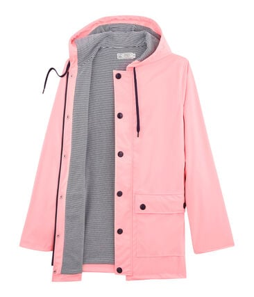 Unisex Iconic Waxed Coat Rosako pink