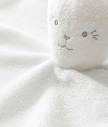 Rabbit comforter in milleraies stripes