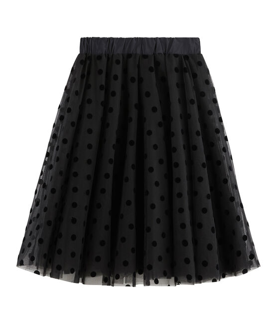 Women's Tulle Skirt Noir black