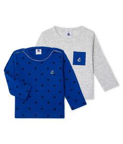 Baby Boys' Long-sleeved T-Shirt - 2-Piece Set
