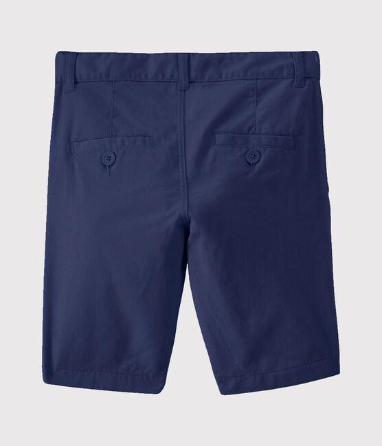 Boys' Serge Bermuda Shorts Smoking blue