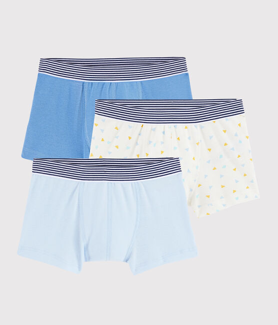 Boys' Geometric Print Boxer Shorts - 3-Piece Set . set