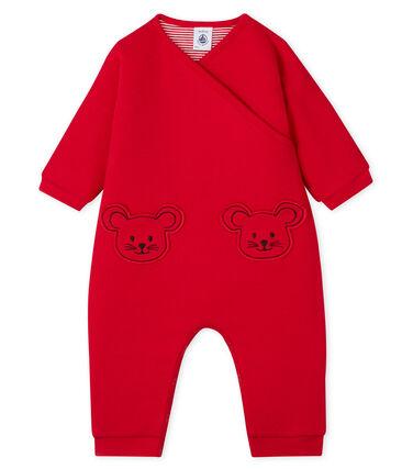 Unisex Baby Snowsuit Terkuit red