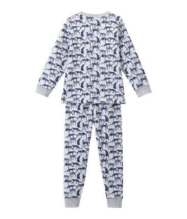 Boy's print double knit pyjamas