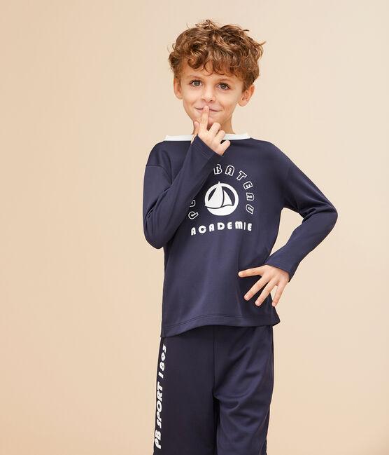 Boys' Bermuda Sports Shorts Smoking blue