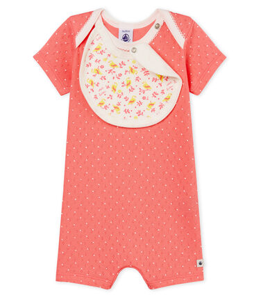 Baby Girls' Shortie Cupcake pink / Marshmallow white