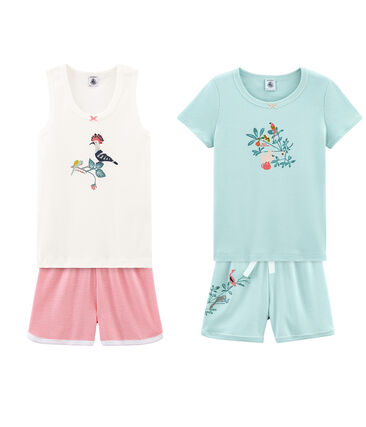 Girl' Pyjamas - Set of 2