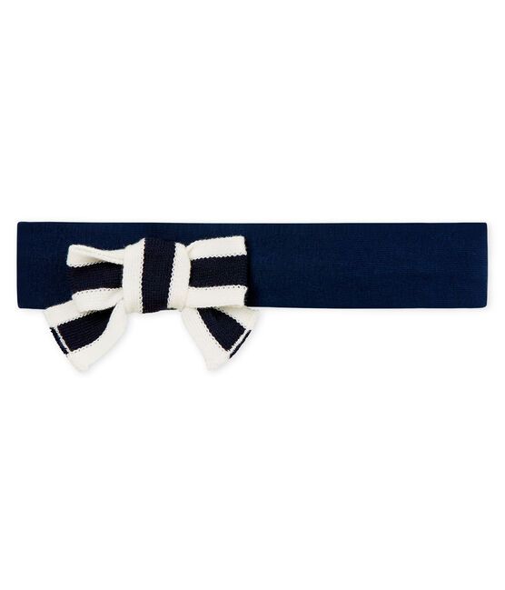 Baby girls' headband Haddock blue