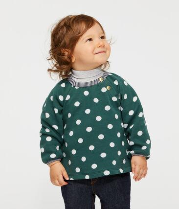 Baby Girls' Long-Sleeved Print Blouse