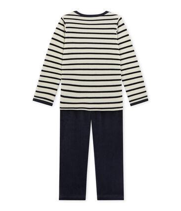 Little boy's velour pyjamas