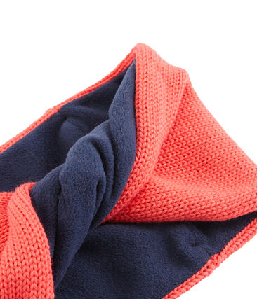 Unisex Children's Snood Signal red
