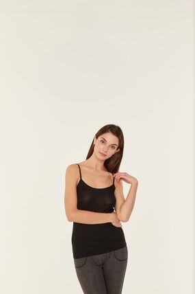 Women's Strappy Shirt - 2-Piece Set