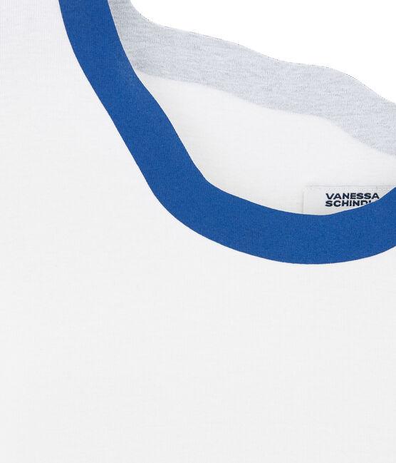 Tee-shirt sérigraphié pour femme Marshmallow white