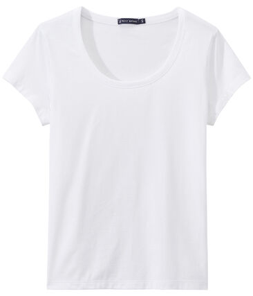SCOOP NECK women's fine jersey tee